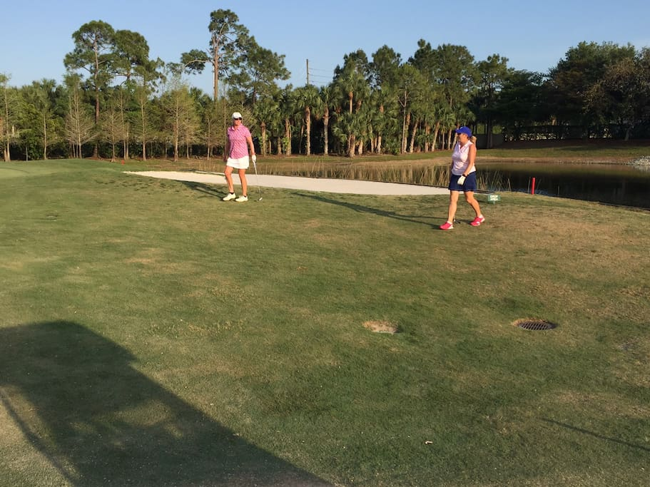 Golfer's paradise.