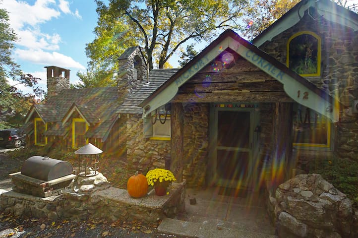 Stay in the Pumpkin House - Branchville - Hus