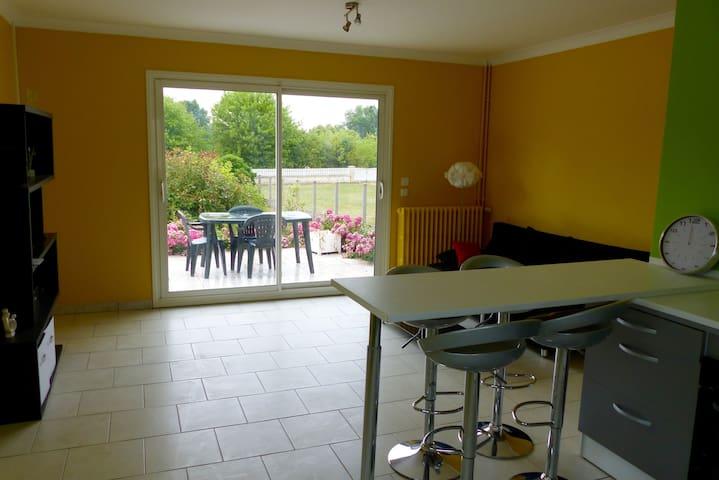 Maison proche  Chambord et Blois, face à la Loire - Muides-sur-Loire