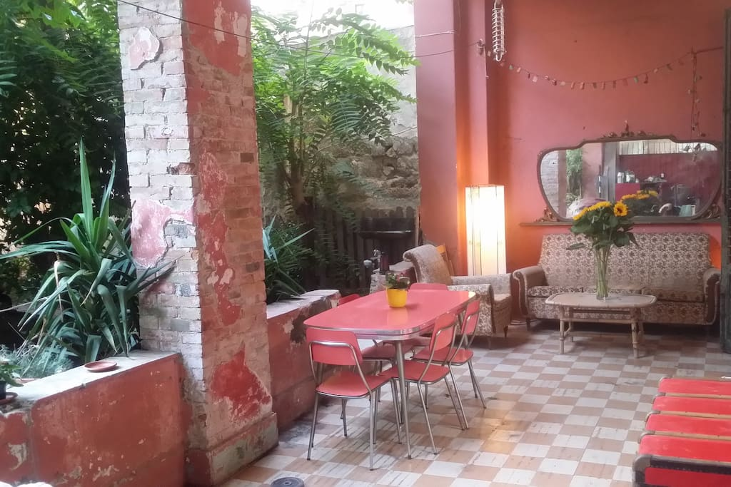 Terrazza + giardino per relax