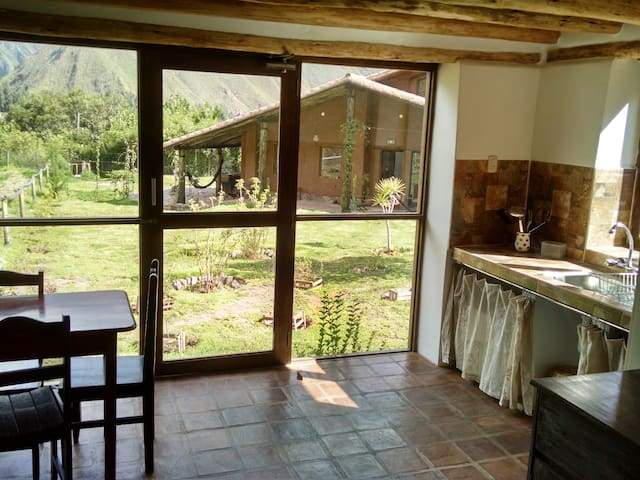 new ''casita'' in sacred valley