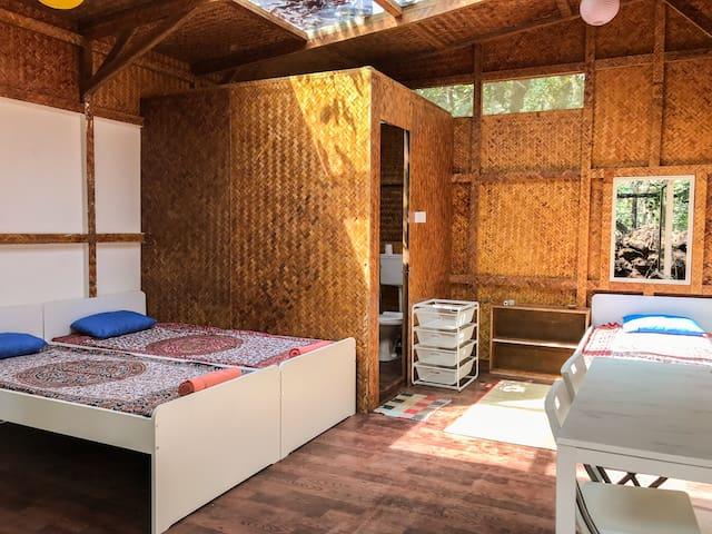 Jungle Hut 3 with Skylight, Yogdan Goa, Agonda