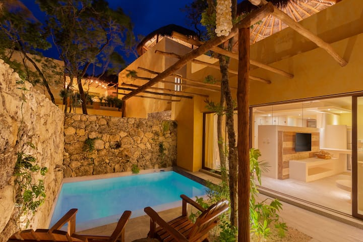 ❤ DELUXE Villa❤ Private Pool &Plunge pool 6★Kuun