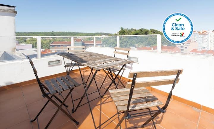 HOUZE_City Center, 4rooms flat w/ great terrace