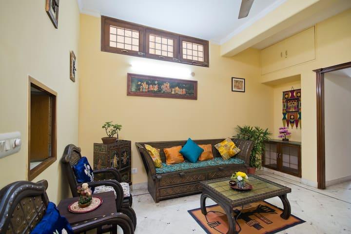 Premium 2 rooms set in South Delhi - Nova Délhi - Apartamento