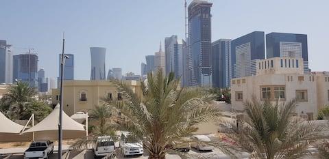 West Bay betalende gast Doha