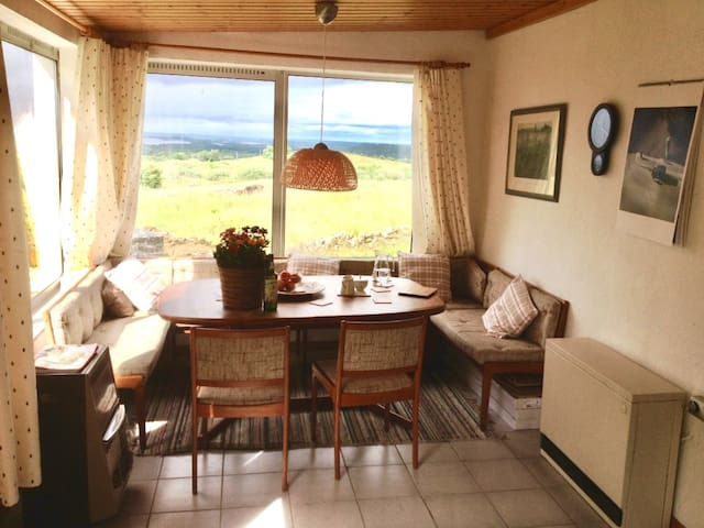 Cozy Cottage with breathtaking views in Connemara