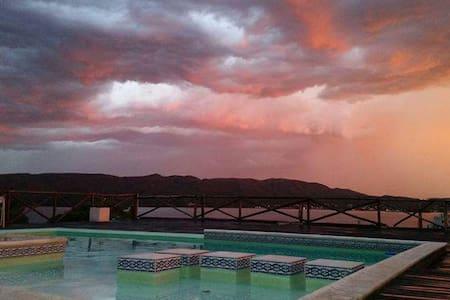 Cabañas Los Palmares; ¡increíble vista al lago! 3 - Villa Carlos Paz - House