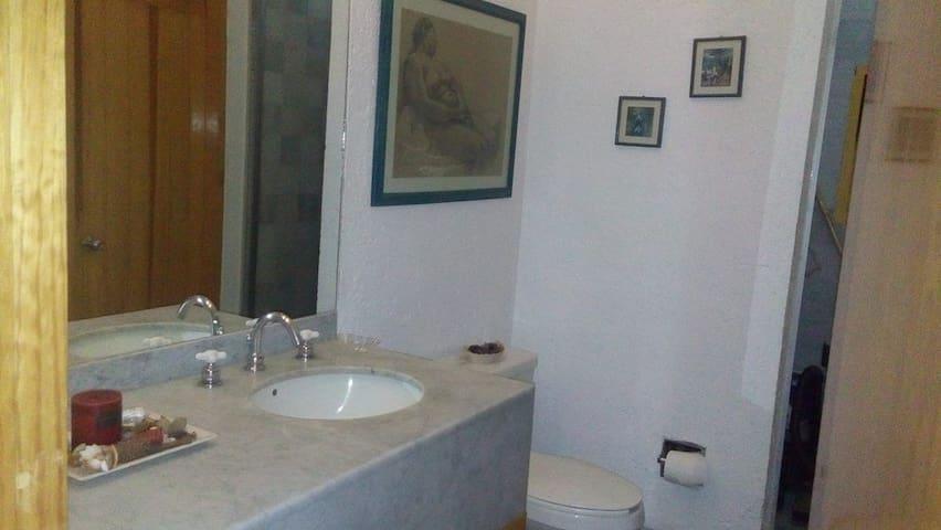 Habitación con baño privado. Santa Fé, México D.F. - Ciudad de México - Dům