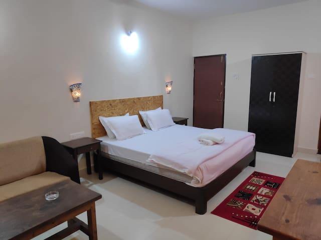 AC Room in Turtle Beach Goa 1
