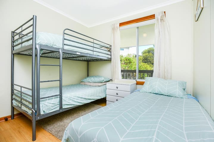 Third bedroom -bunk and single