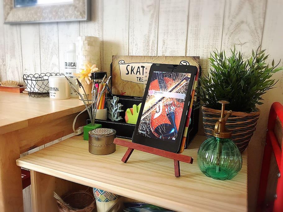 tablet & stationary