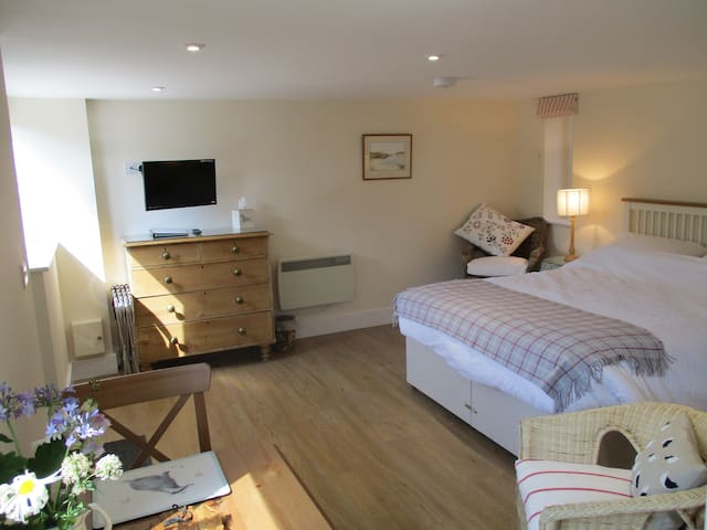 En Suite Studio in Barn setting, in Saxon village