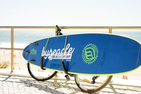 Byseacle-Lisbon Bike Surf Camp | double - Carcavelos