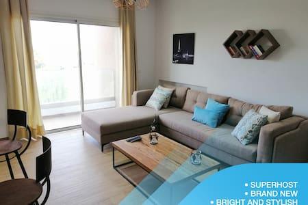 Bright & Stylish 1bd flat in Jardins De Carthage