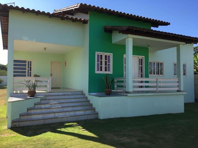 Casa de frente ao mar Praia grande- ES