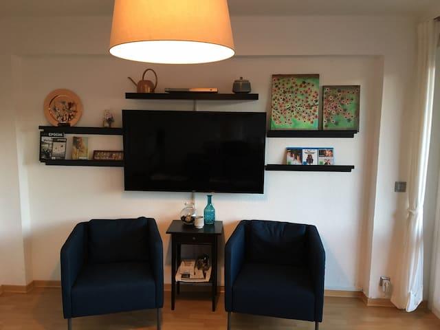 Gemütlich Wohnung mit freiem Gästezimmer - Coblença - Apartament