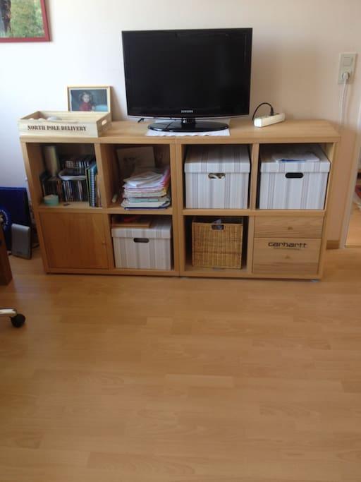 Gästezimmer, Fernseher