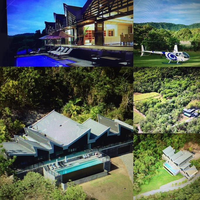 #luxurygonegreen Perfectly privately positioned on 40 acres of rural rainforest.