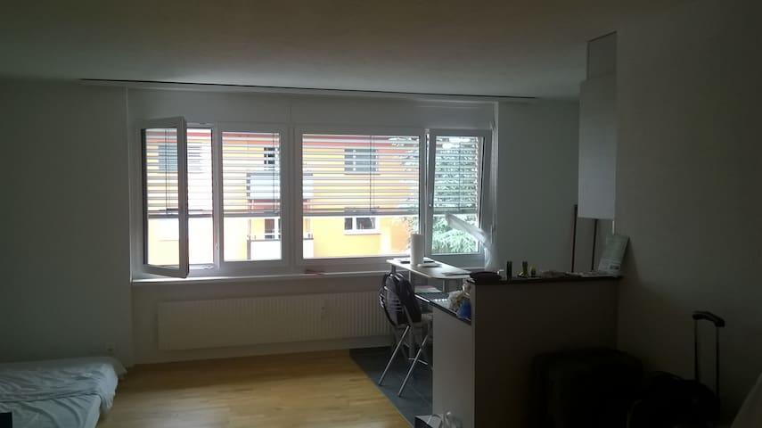 1-Zimmerwohnung befristet, Kreuzlingen am Bodensee - Kreuzlingen - Appartement