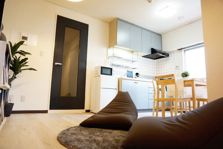 Sakae 9mins/Convenient Clean Room 4ppl/Free WiFi51 - Nagoya-shi - Appartement