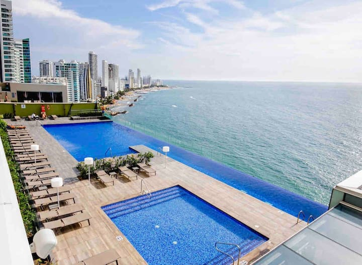 Cartagena H2 lux 20th Floor , Great location!!!