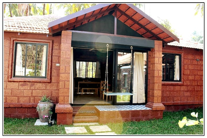 Red Brick Villa - 2bhk in Alibaug