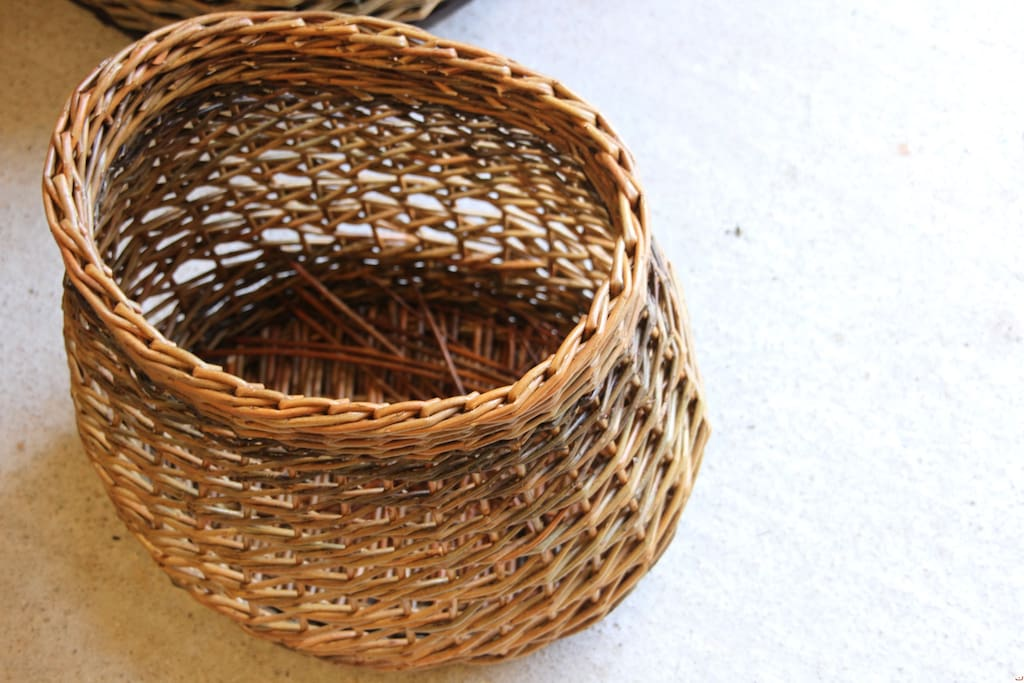 One of the masterpiece of the willow baskets