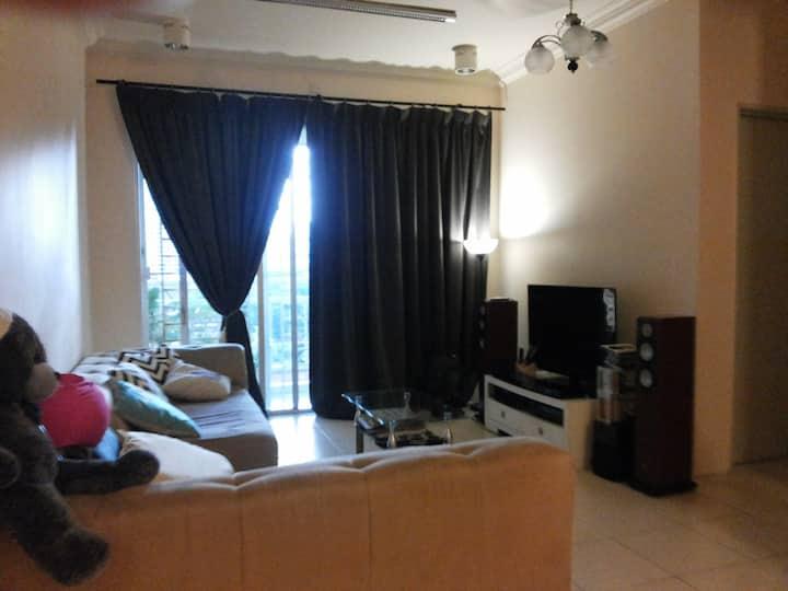 Modern and Comfort Room in Kuala Lumpur, Setapak