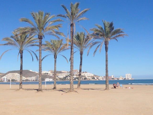 Cullera centre plage
