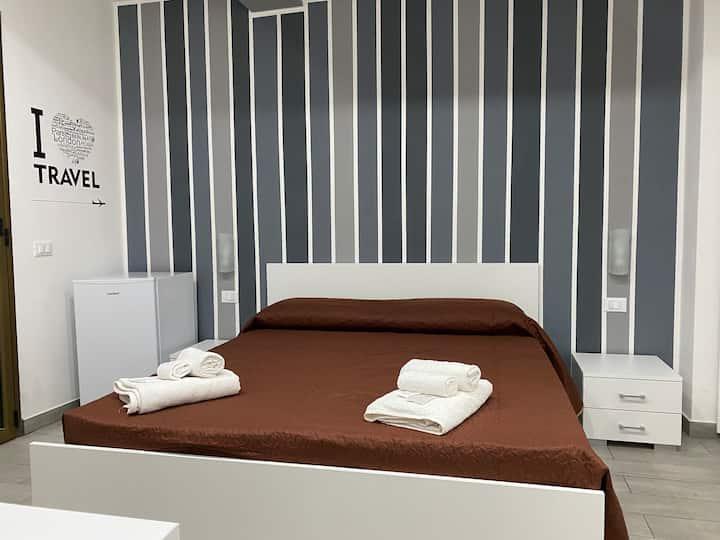 in Centro Rooms camera tripla a piano terra