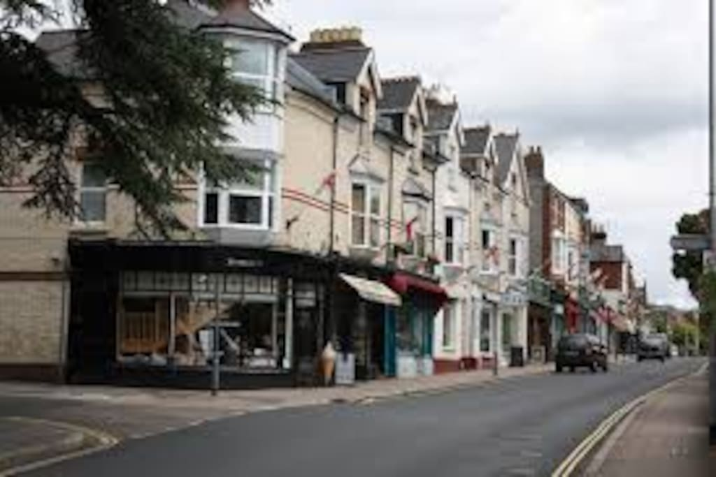 Magdalen Road is just at the end of our street with lovely little shops and cafes