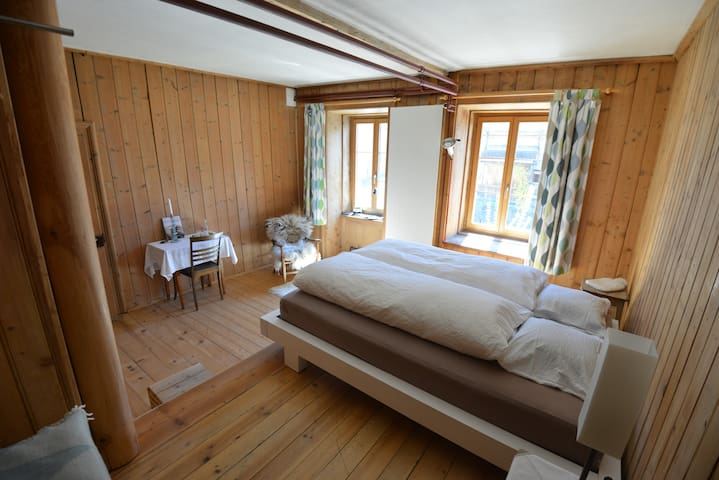 Simpel but cosy with own kitchen and bath - Trin - Selveierleilighet