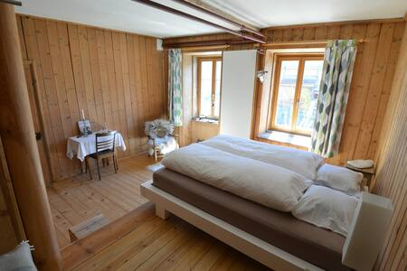 Simpel but cosy with guest kitchen and -bath - Trin - Ház