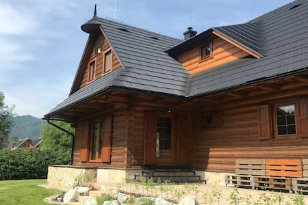 Exclusive Wooden House/ Chalet Zazriva/ Terchova