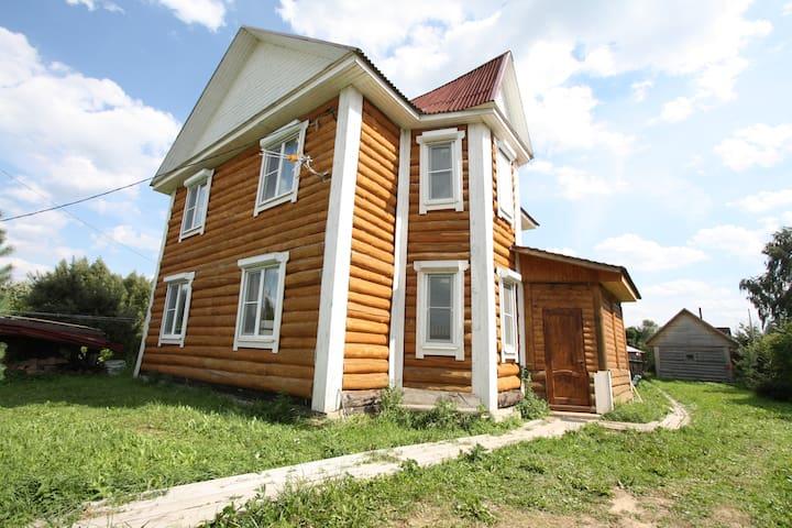 Дом для отдыха Емеля у Озернинского водохранилища