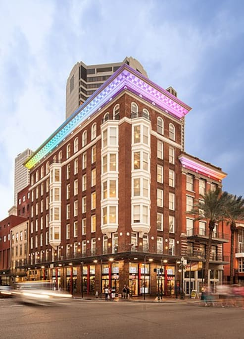 Canal st luxury apt w exposed brick g47 apartments for - 2 bedroom apartments in new orleans east ...
