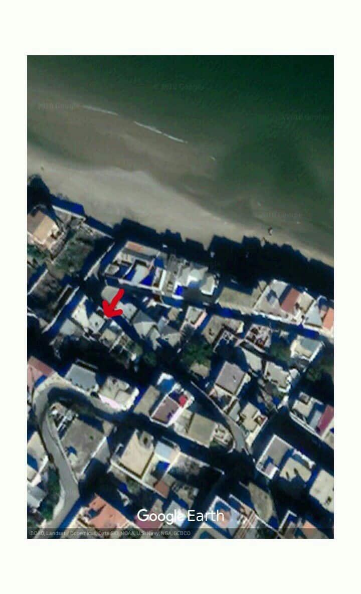 Logement au bord de la plage.
