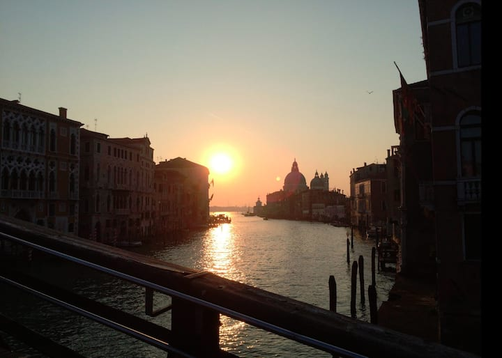 Sunsire from Accademia bridge!