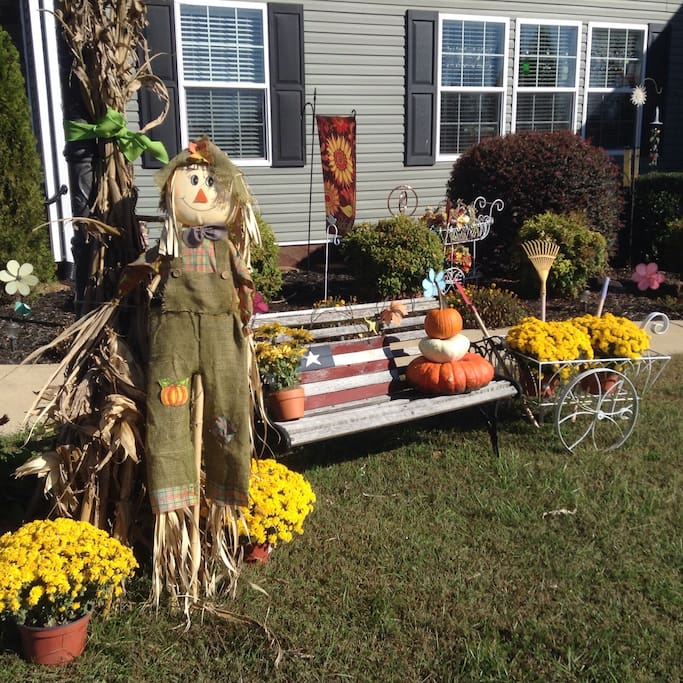 Mr. Scarecrow awaits your arrival!
