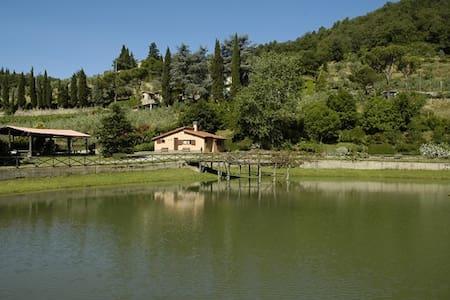 Il Lago. Cozy Tuscan countryside apartment - Figline Valdarno
