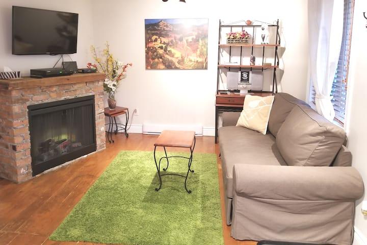 Appartement chaleureux 2 à Chomedey, Laval