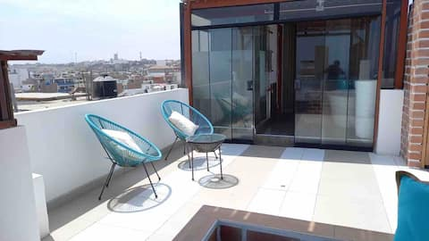 Lovely 3-Bedroom apartment with Terrace