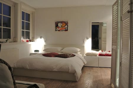 Spacious room with private bathroom - Amsterdam - Apartment