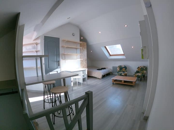Studio cosy proche centre-ville et gare #4