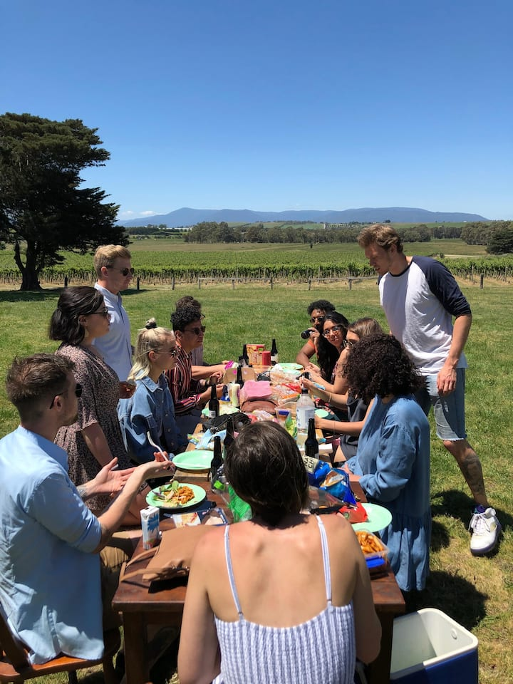 Picnic at one of our wineries