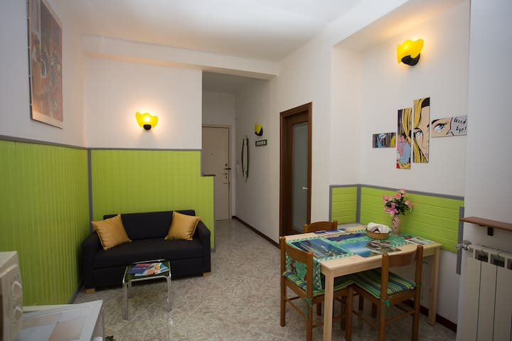 Green Rainbow apartment with free WI-FI