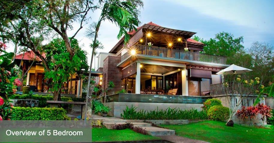 Jimbaran view villa