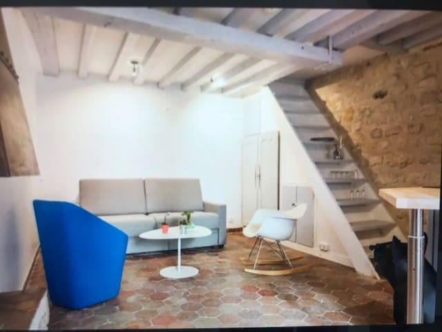 NEW FLAT IN THE MARAIS RENOVATED IN 2017 (4 PERS)