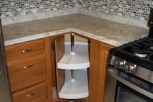 Lazy Susan in Kitchen